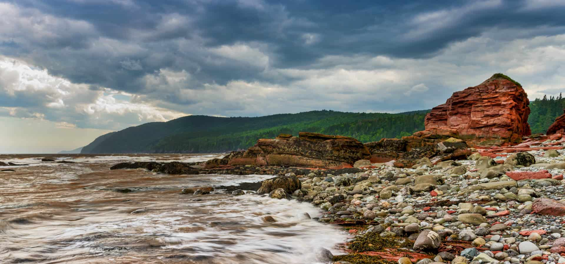 Dennis Beach, Bay of Fundy -1743