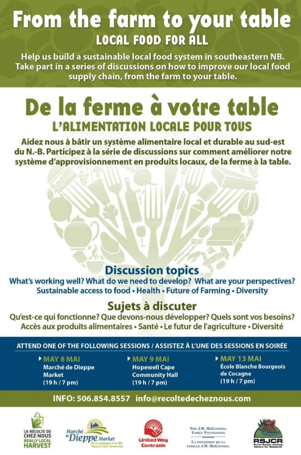 Local food conference Poster - Design