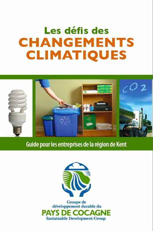 Climate change booklet - Co-writing and design